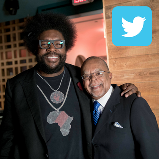Twitter | Questlove and Henry Louis Gates, Jr.