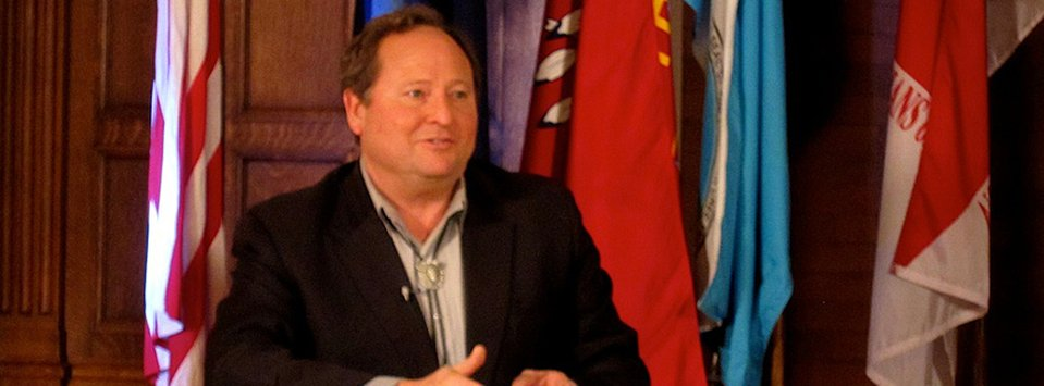 Governor Schweitzer discusses the Internet impact in Montana