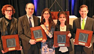 Bridget Russo-Gottleib (shinola), Lisa & Hannan Lis, Wally Prechter, Matt Elliott (bank of america).jpg