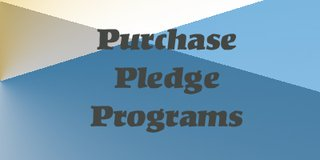 Pledge Programs