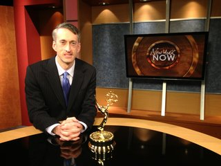 Matt Ryan with Emmy