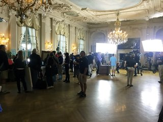 Rosecliff ballroom in Antiques Roadshow Newport