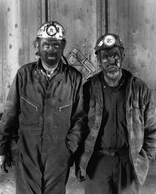 The Appalachians: Coal Miners. Photo credit Shelby Lee Adams.