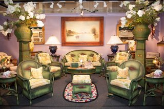 Newport Antiques Show furniture