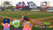 Rhode Island PBS Kids and the Pawsox have a BBQ!