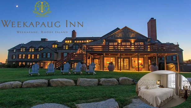 2 Night Stay at the Weekapaug Inn, Cove View Deluxe room in Westerly, RI