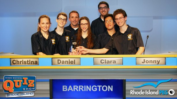 Congratulations to Barrington High School, High School Quiz Show: Rhode Island® 2019 State Champions!