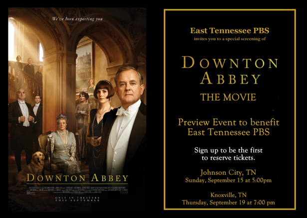 Be the first to reserve tickets to see the new Downton Abbey Movie