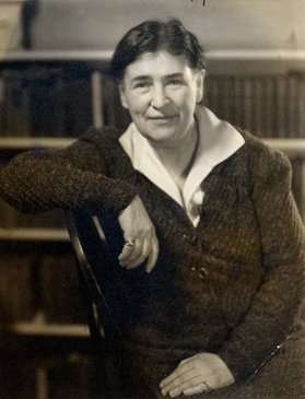 Willa Cather on December 7, 1936