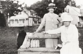 Willa Cather and Edith Lewis